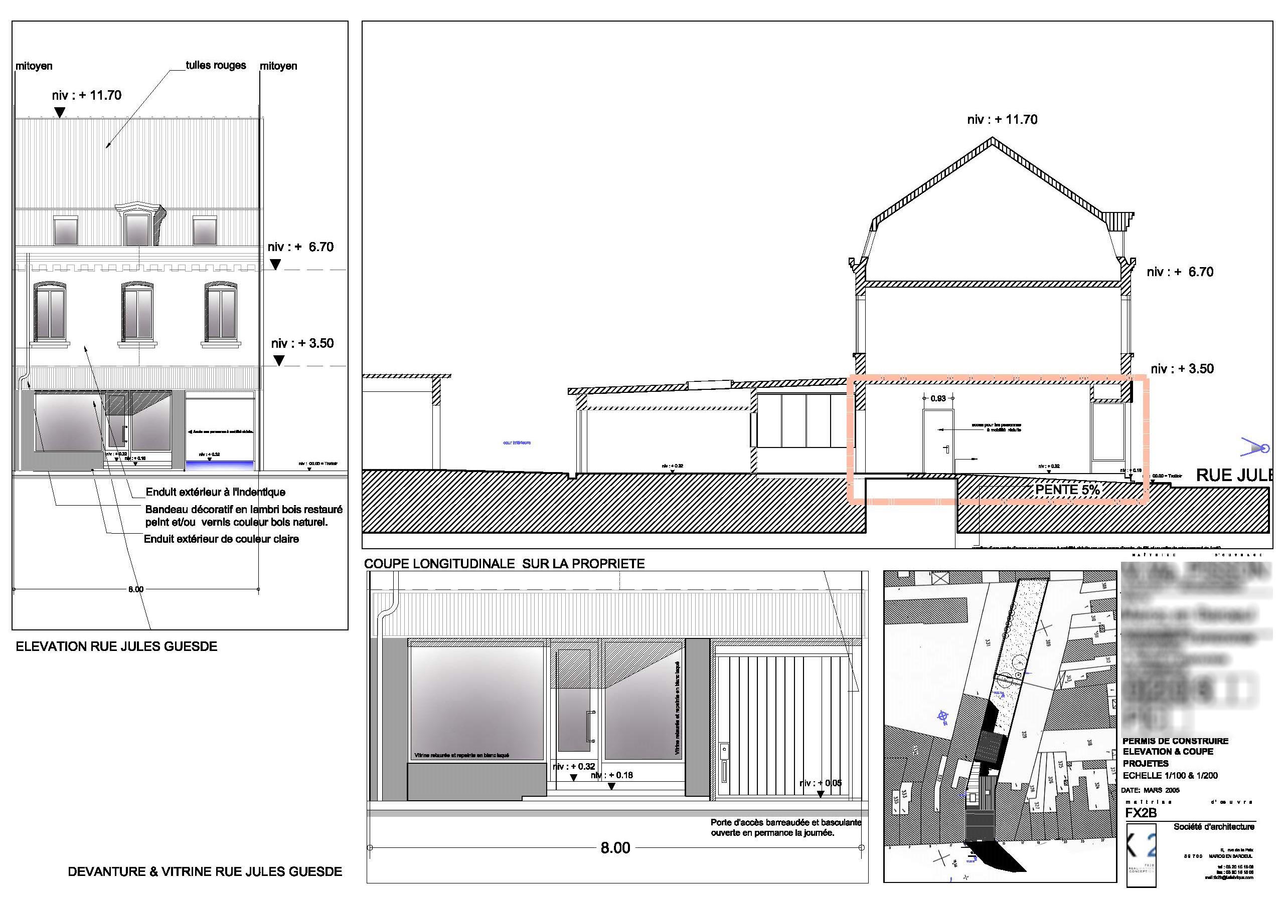 permis de construire marcq en baroeul 59700 fx2b. Black Bedroom Furniture Sets. Home Design Ideas