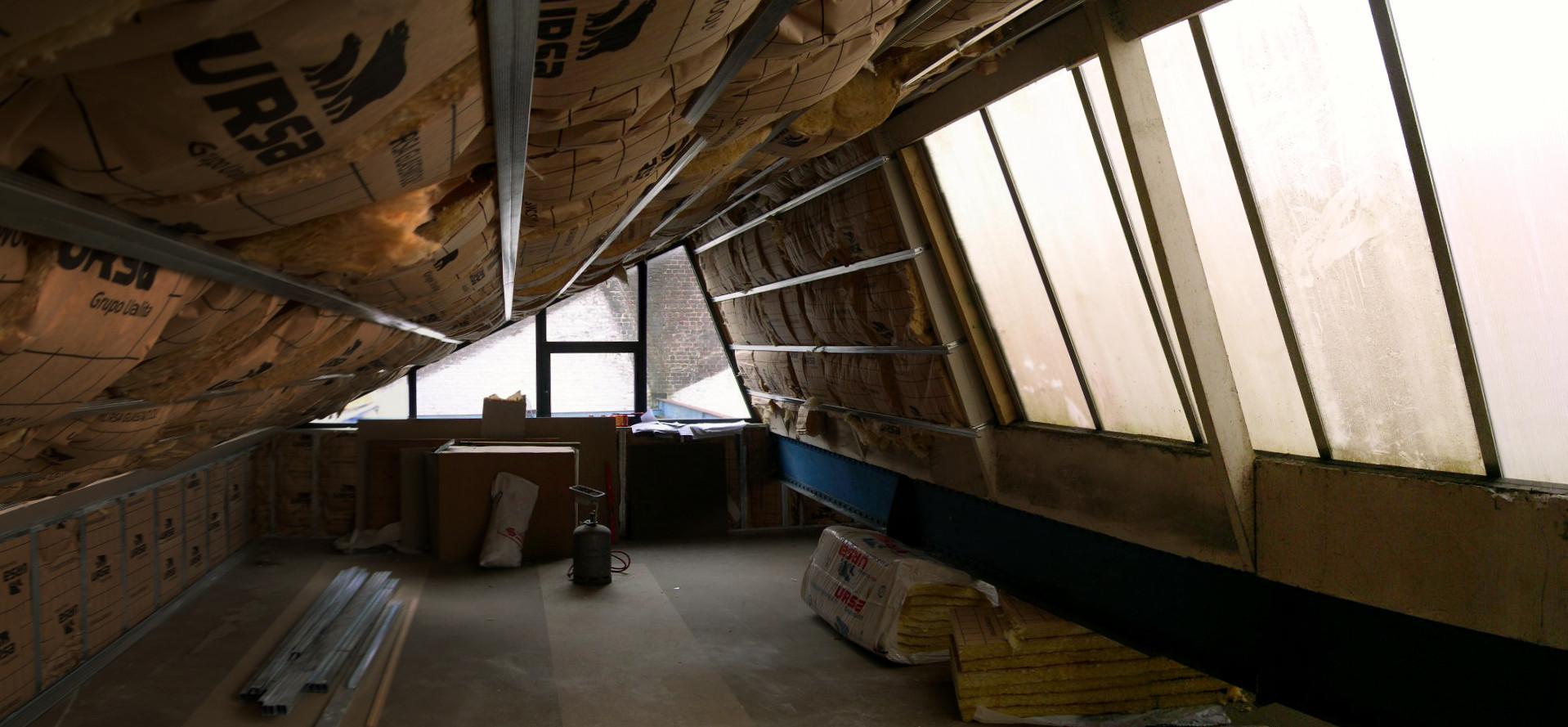 Amenagement d un loft sur deux niveaux dans un ancien atelier wattrelos 5 - Amenagement d un loft ...
